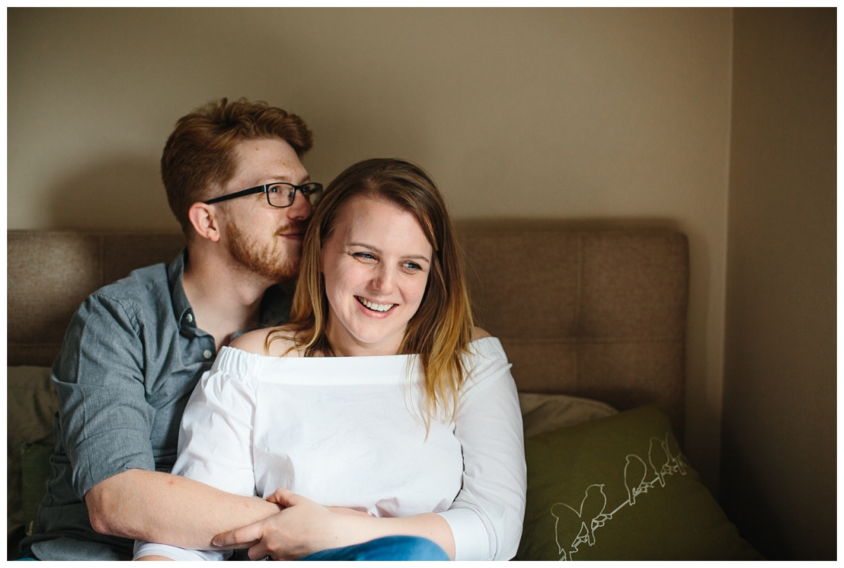 Milwaukee WI Lifestyle Engagement Photography_with a Dog