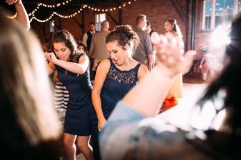 Indoor farmhouse wedding_Wisconsin Wedding Photographer