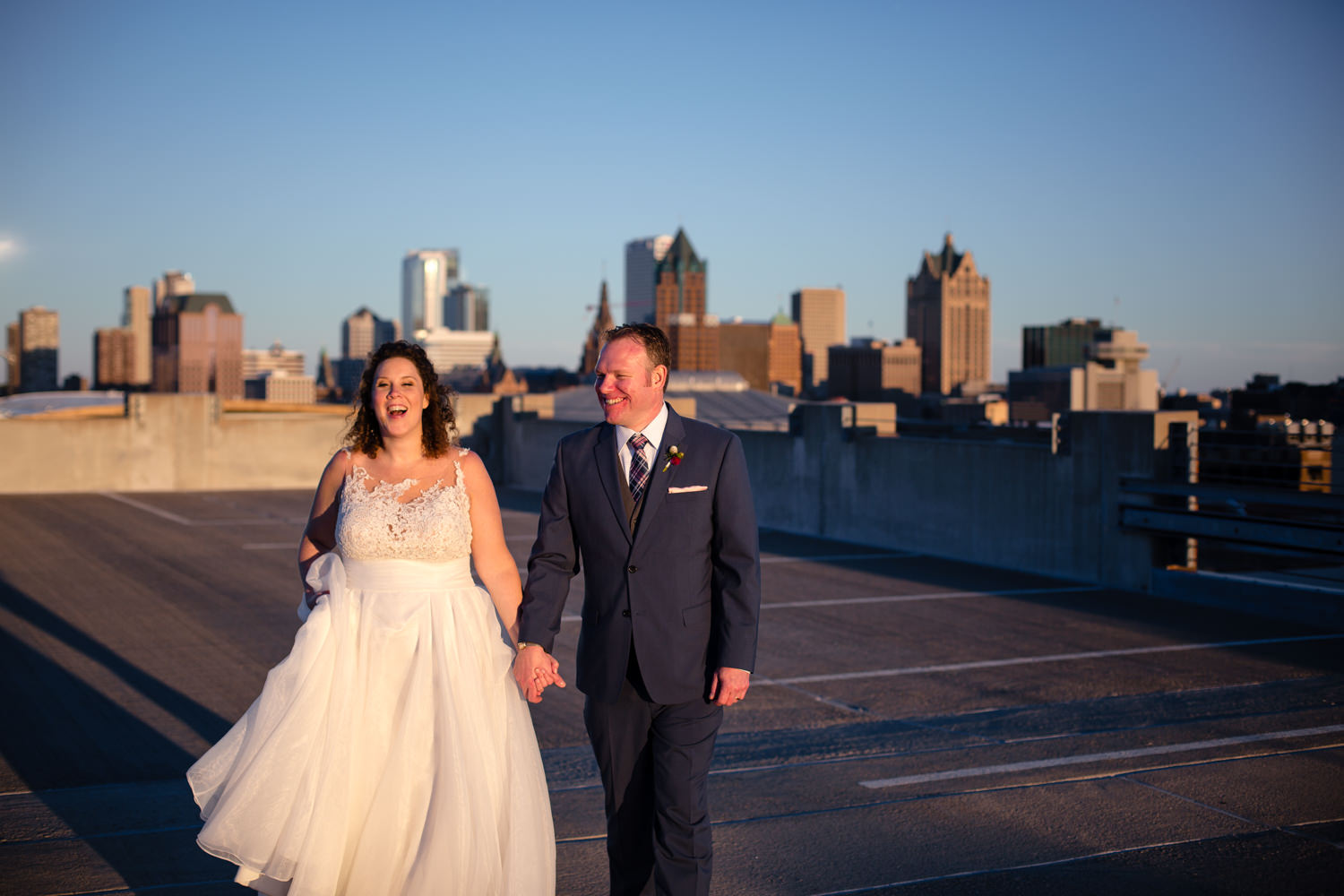 Brewhouse Inn and Suites downtown Milwaukee and Joan of Arc Chapel wedding pictures