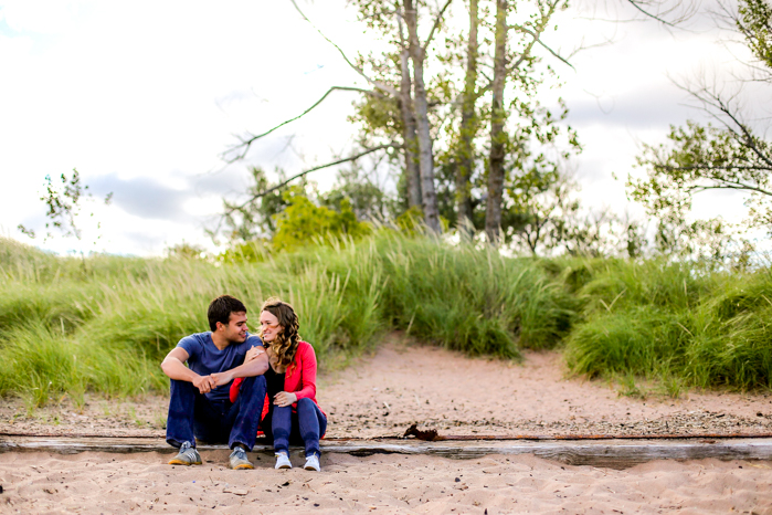 Lake Superior Engagement Pictures-14