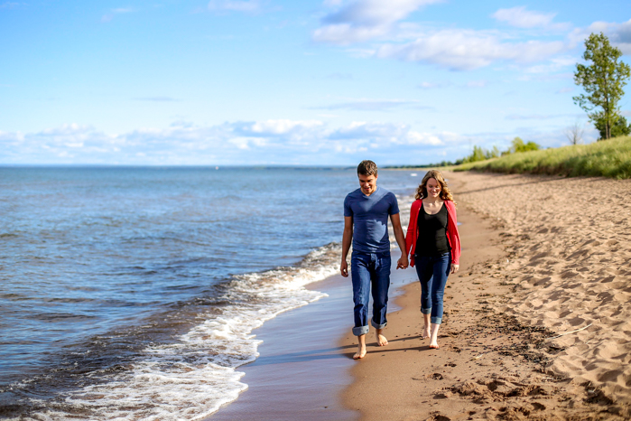 Lake Superior Engagement Pictures-5