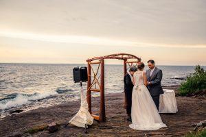 Wisconsin Photography_sunset wedding