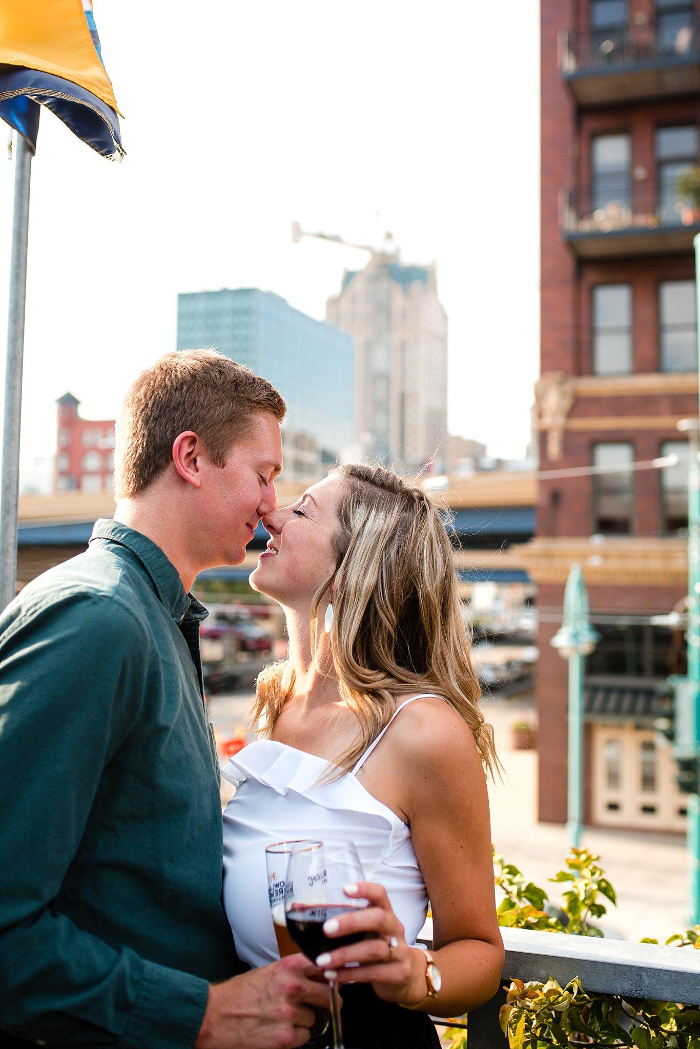 Cafe benelux_Milwaukee Engagement Photographer